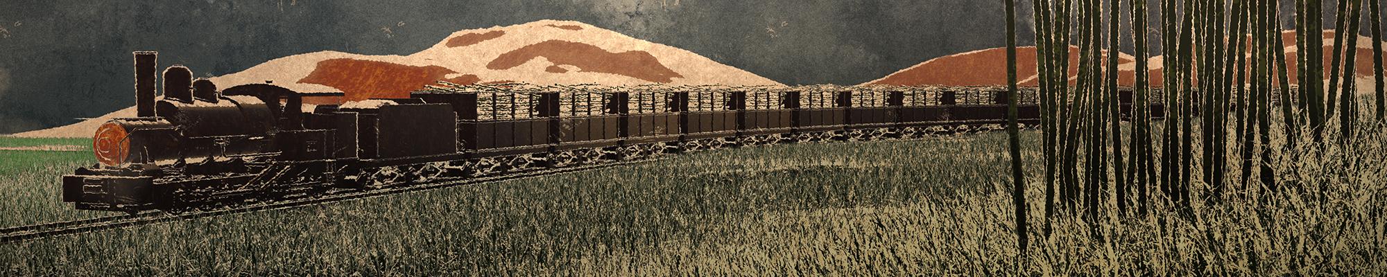 Trainscene 1